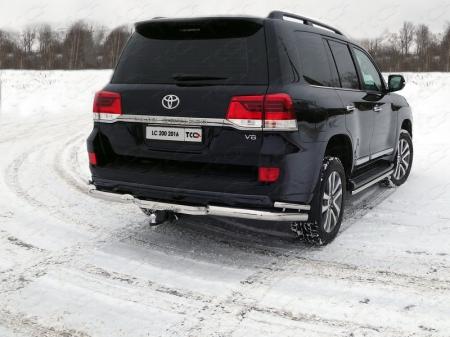 Toyota Land Cruiser 200 Executive 2016-Фаркоп (оцинкованный, надпись Executive, шар E)